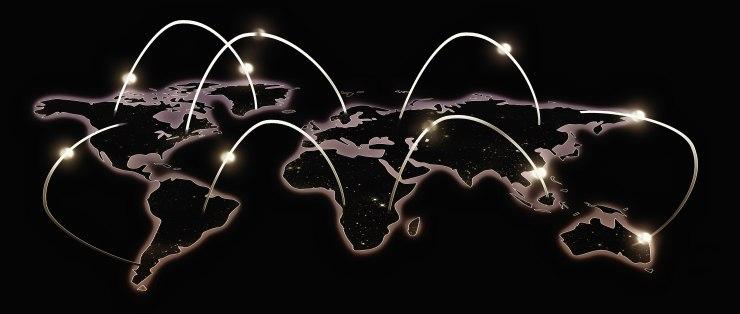 World network illustration