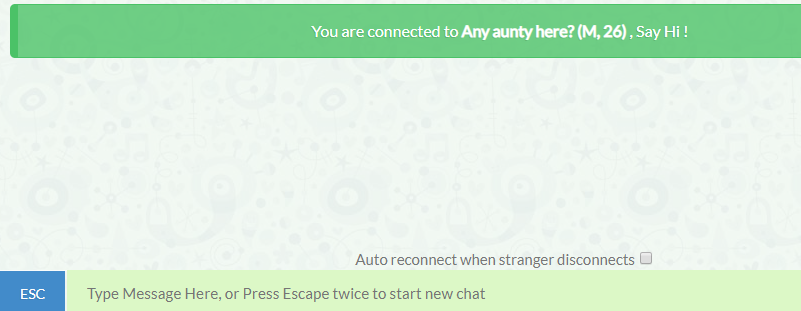 Anonymous chat site TalkWithStranger