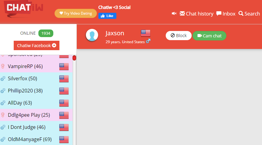 Chatiw anonymous chat site