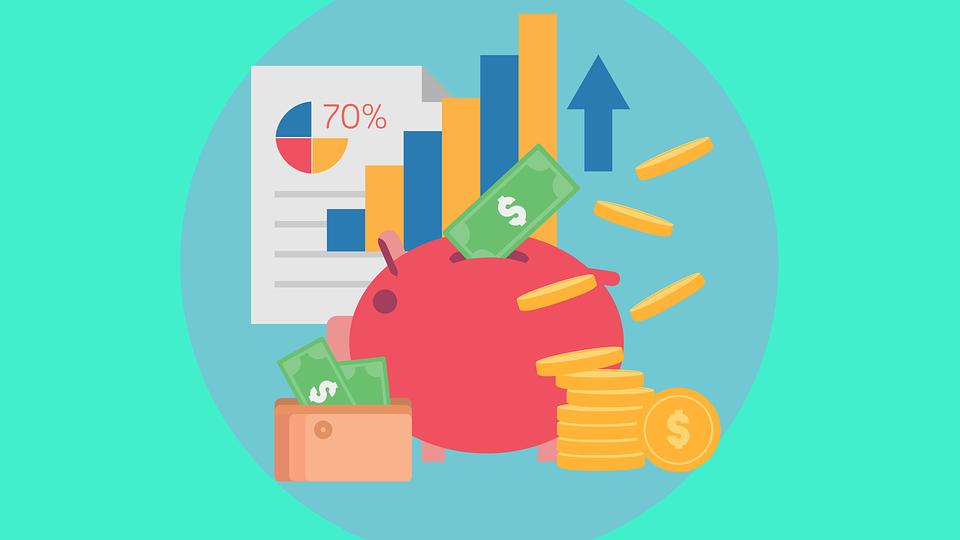 Make money online illustration
