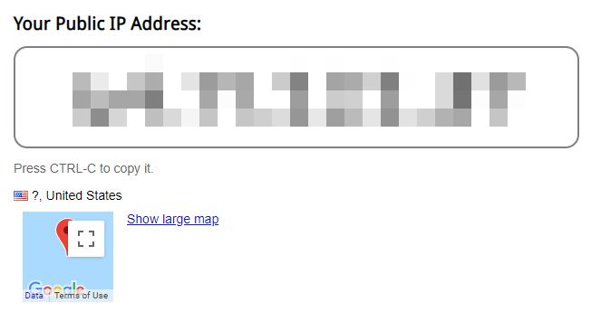 W69b IP finder website