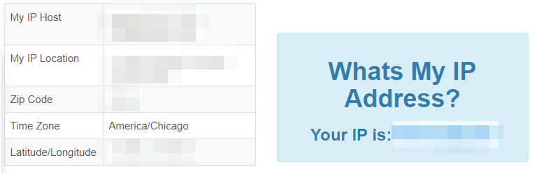 CheckMyIP.com IP finder website