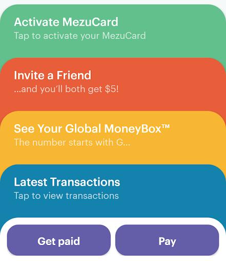Mezu mobile app